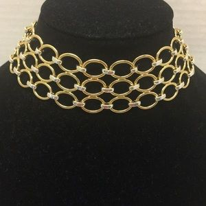 Napier Gold and Silver Choker